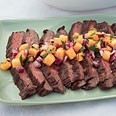Flank Steak with Melon Relish